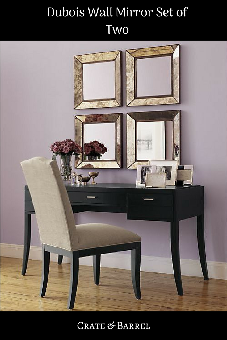 I Love These Set Of Mirrors The Set Is For 2 But With The 4 Mirrors It Looks Beautiful Walldecor Mirrors Decor Crate B Big Wall Mirrors Wall Mirror With Shelf Wall Mirrors Entryway