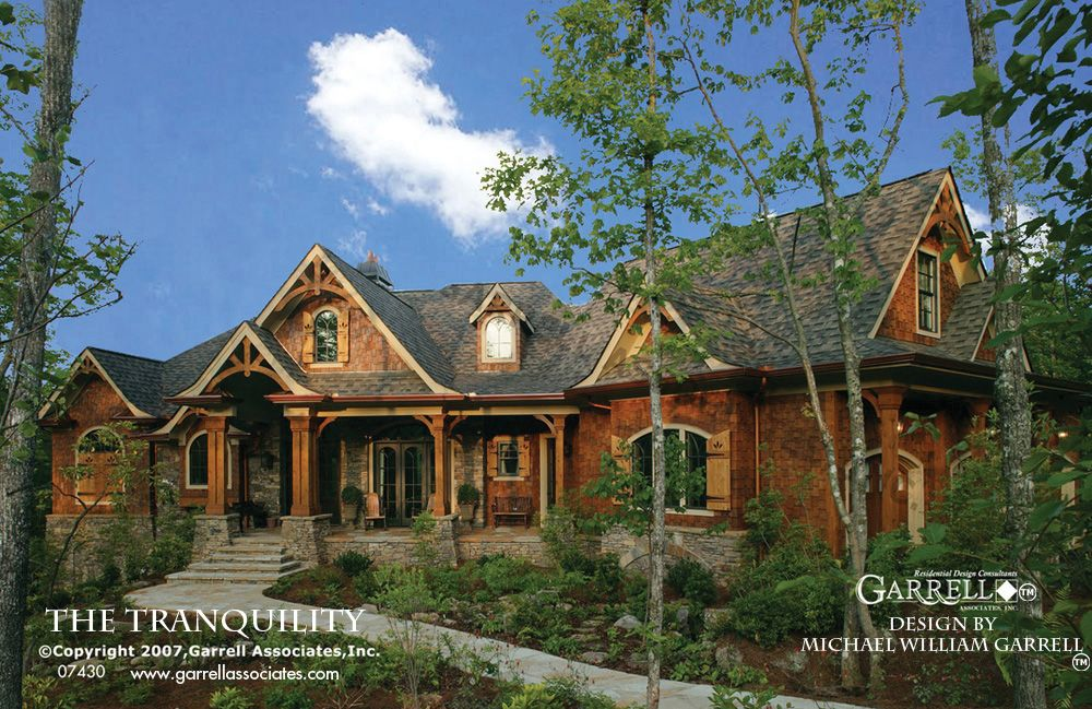 Tranquility House Plan 07430, Front Elevation,Mountain Style House ...