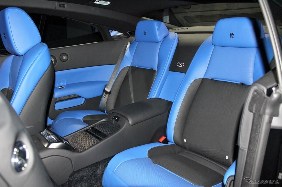 Rolls Royce Wraith Black Badge Blue Interior Seats Door Panels Rolls Royce Wraith Black Mercedes Maybach Blue Interior