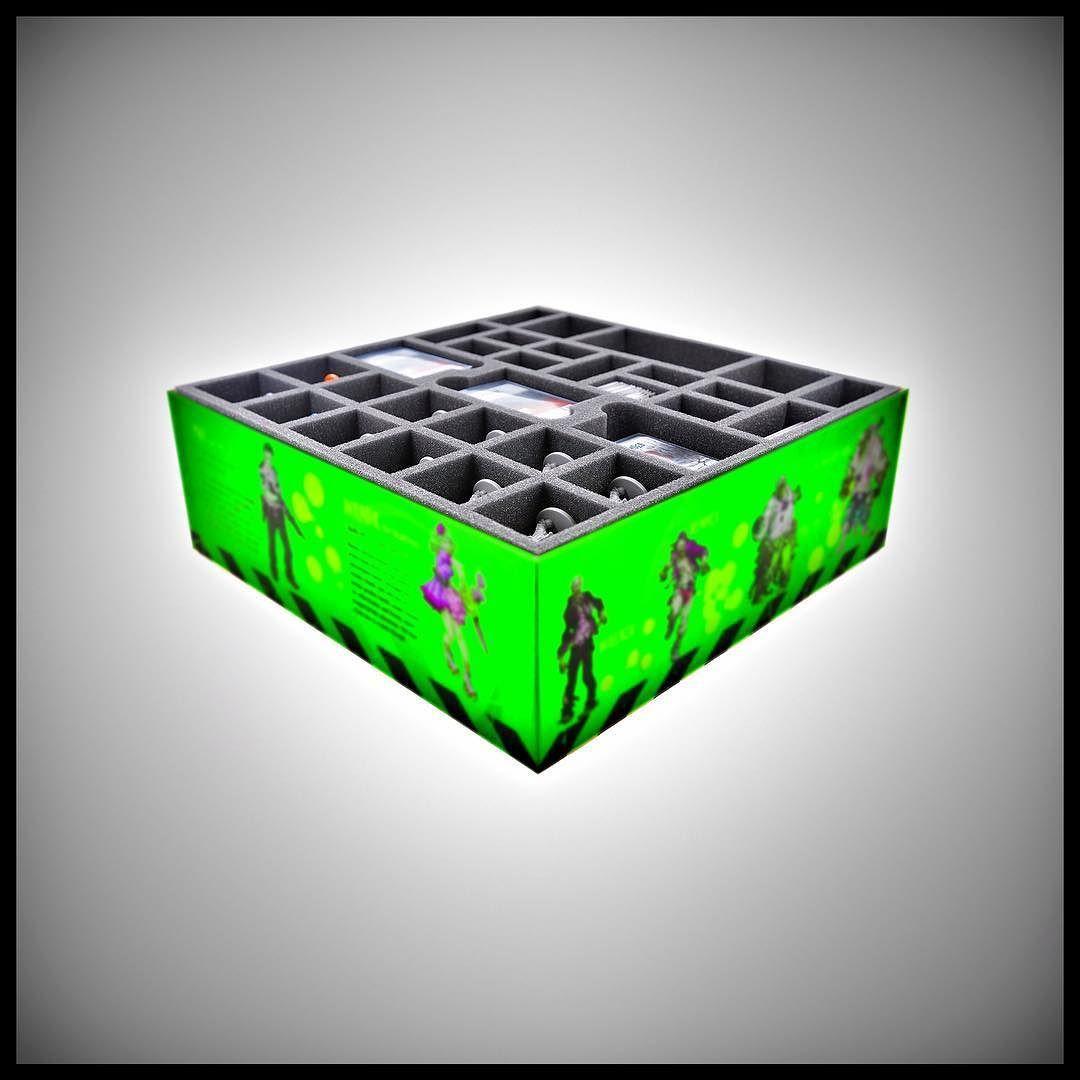 Feldherr foam kit for the complete Zombicide: Green Horde Kickstarter Pledge http://ift.tt/2rkIZ9a  #zombicide #greenhorde #boardgame #cmon