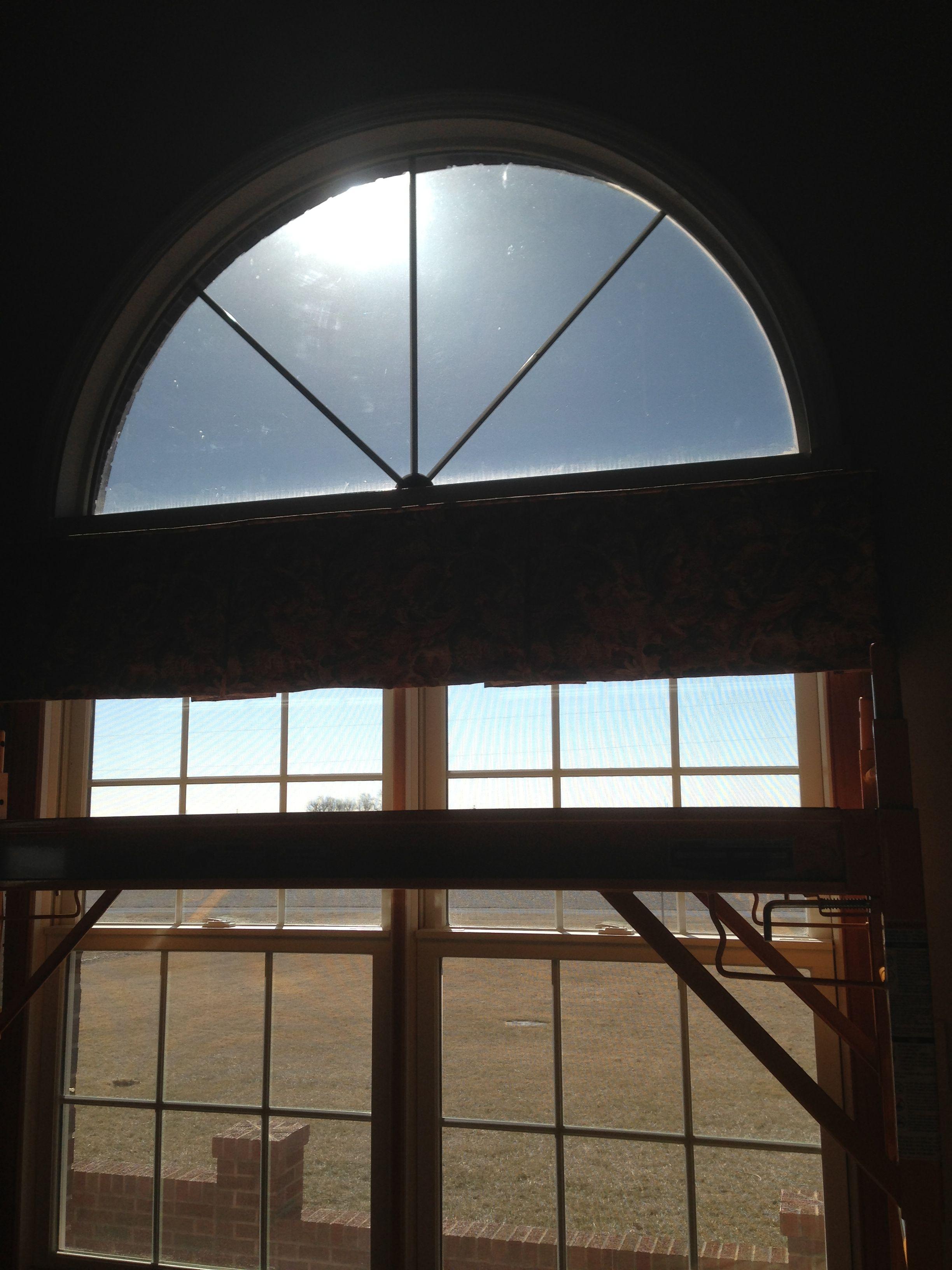 Window Tint On Residential Bay Window 25 Dual Reflective