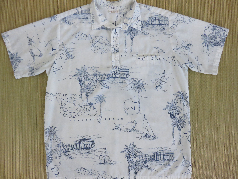 Hawaiian Shirt Men MR HAWAII INC Vintage