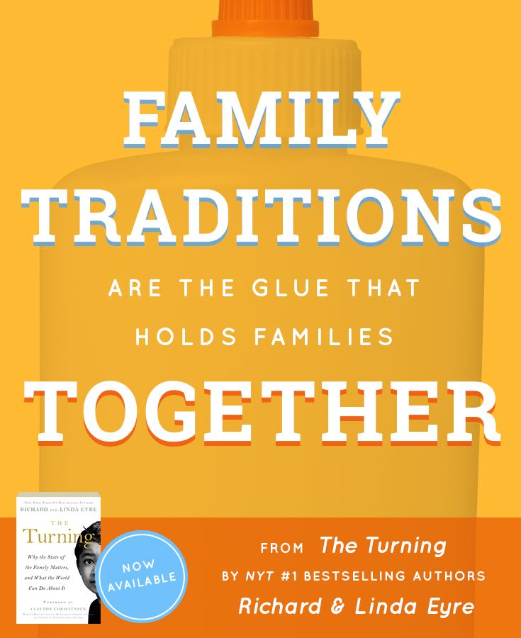 """""""The Turning: Why the State of the Family Matters and What the World Can Do about It"""" by Richard and Linda Eyre"""