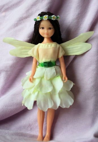 25 Fantastically Retro And Vintage Home Decorations: Vintage Hornby Flower Fairies GUELDER-ROSE FAIRY Pixie