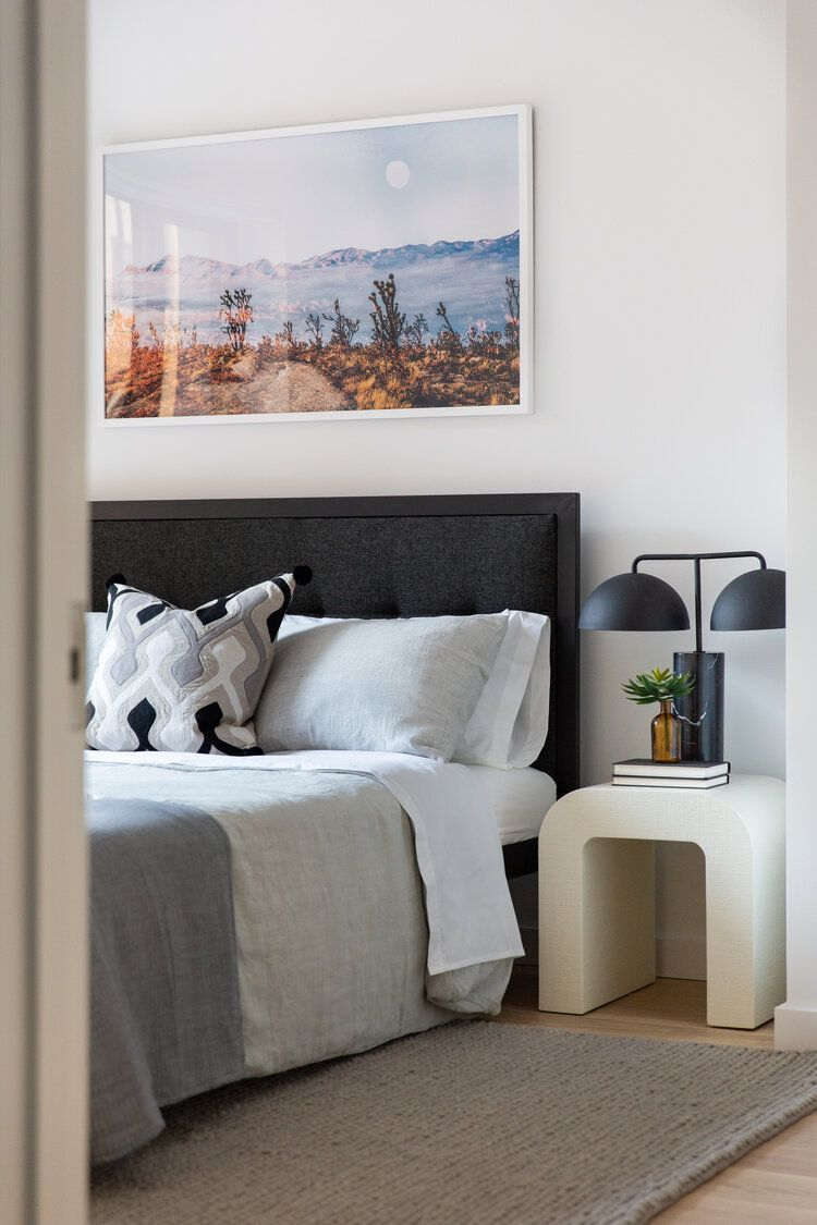We're comfy and cozy in this bedroom in our Chelsea Model ...