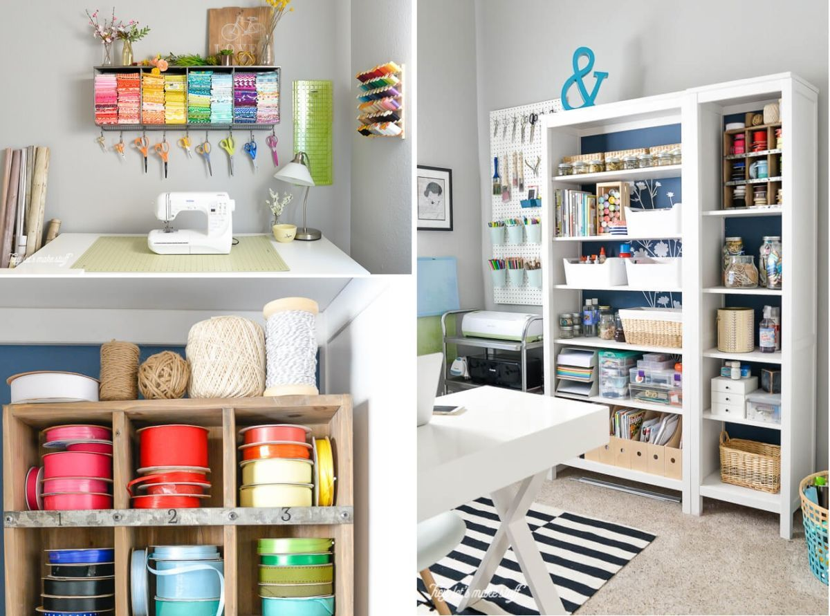 Setting Up A Craft Room Is Really Exciting But Requires A Lot Of Planning It S Important To Make It Stor Craft Room Organization Craft Room Storage Craft Room