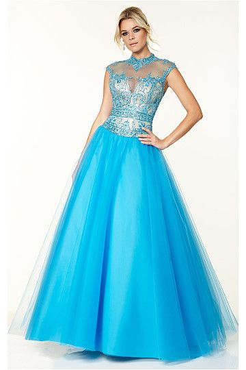 Classic Ball Gown Floor-length Ball Gown Cap Sleeves Prom Dresses ...
