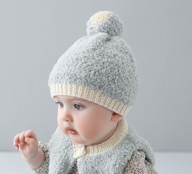 6cfcd0938b70 Le petit bonnet douillet par excellence ! Bébé sera comme un coq en pâte  avec ce