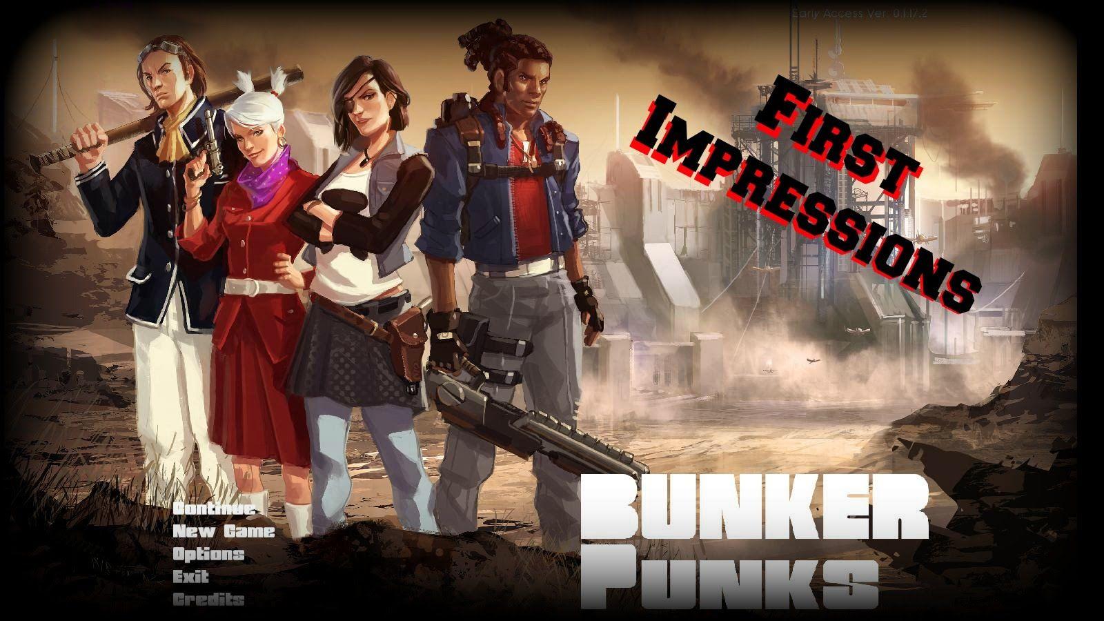 Bunker Punks First Impressions / Old Style Doom W/ Base