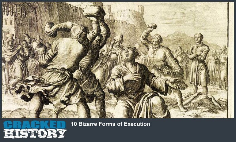 10 bizarre forms of execution - http://www.crackedhistory/10
