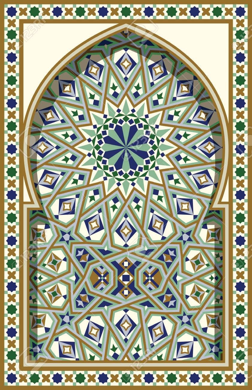 Stock Vector in 2020 Islamic art pattern, Islamic art
