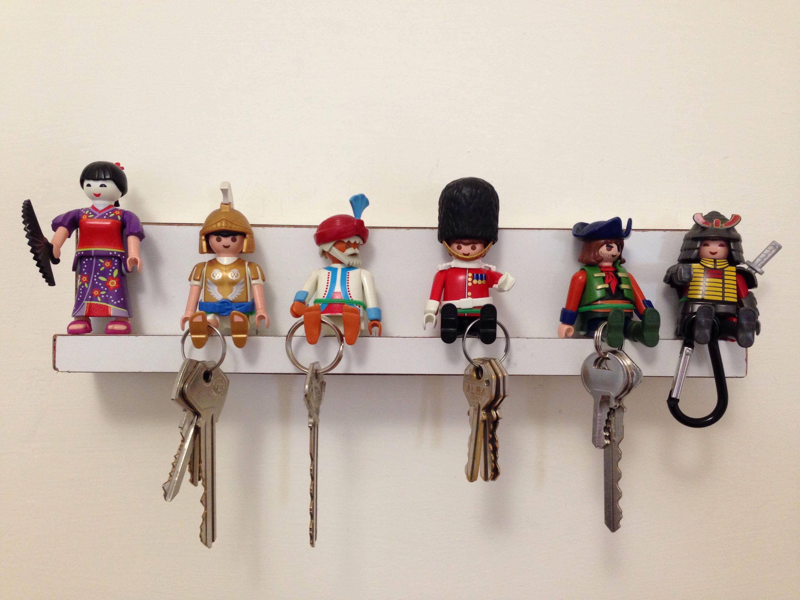 porta llaves | playmobil | pinterest | clefs, bricolage et entrée