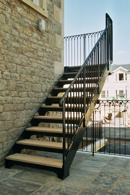 Best External Staircase Design Google Search Stairs Iron 400 x 300