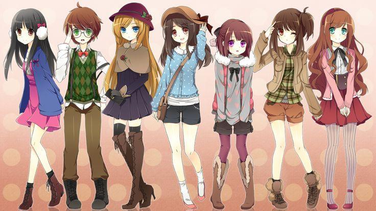 fashion clothes for teenagers anime tìm với google fashion