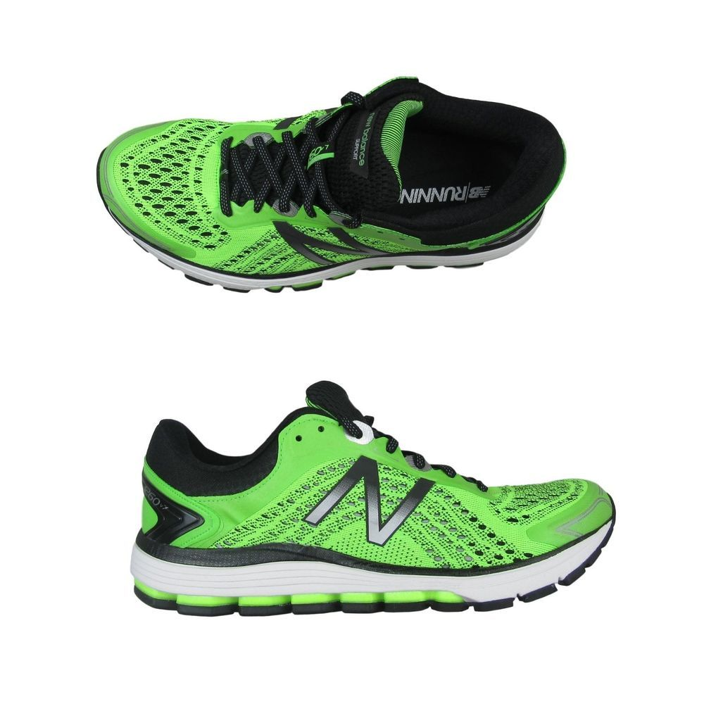 ea560a6d New Balance 1260v7 Running Training Shoes Size 9 Lime Green M1260BG7 ...