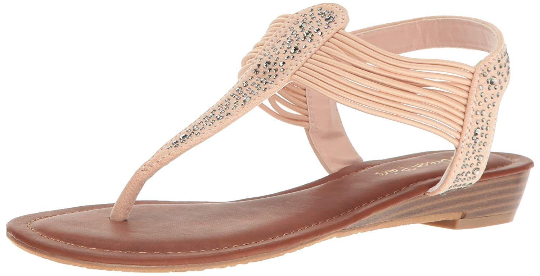 c670e0ac016 DREAM PAIRS Women s Spark Wedge Sandal. Dream pairs spark new women s  elegant dressy strappy string