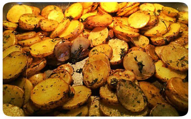 Bratkartoffeln aus dem Ofen #kartoffelnofen Knusprige Kartoffeln aus dem Ofen #kartoffelnofen