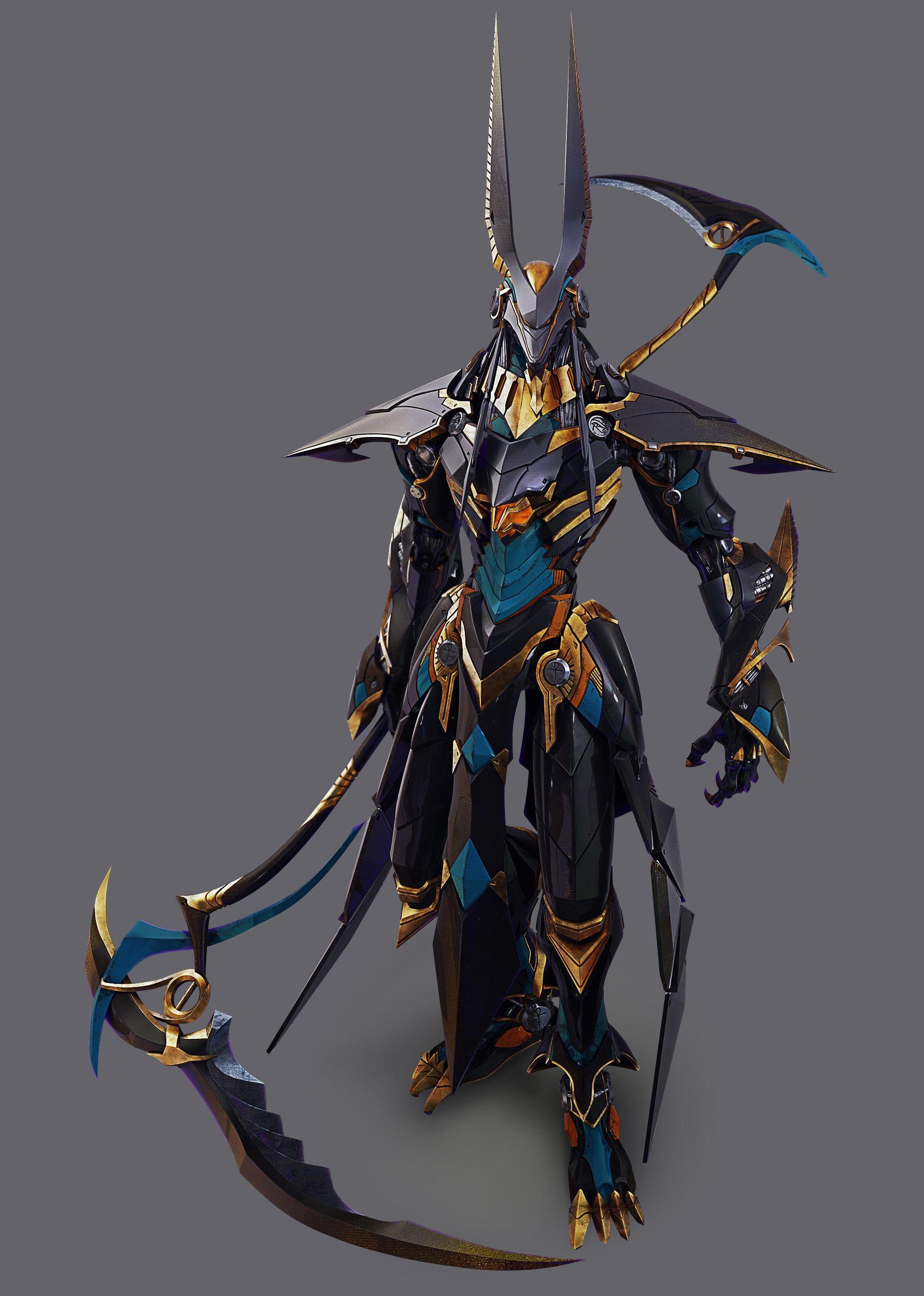 23++ Anubis armor information