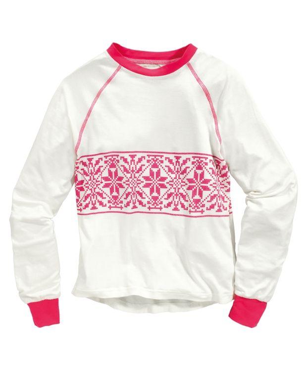 c14043bf Wool underwear kids Lett og behagelig ullsett fra Redhill. Tofarget genser  med rund hals og