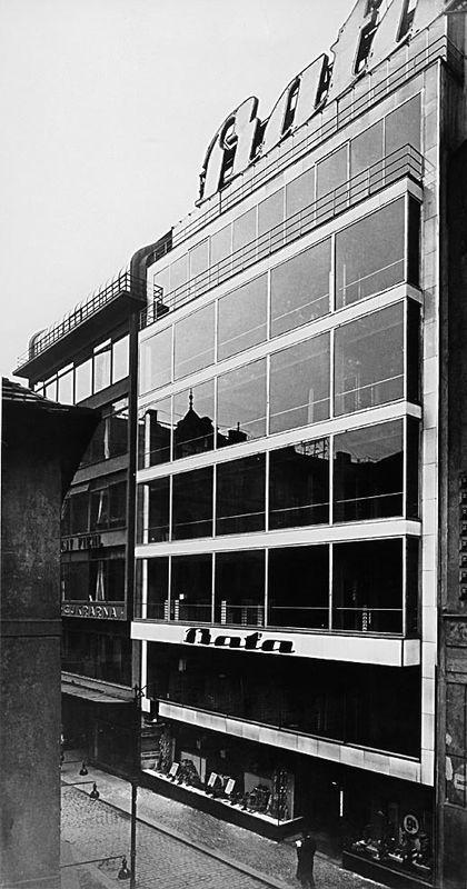Bata house of service in praha czech republic 1928 1929 our heritage pinterest czech - Mobeltown berlin ...