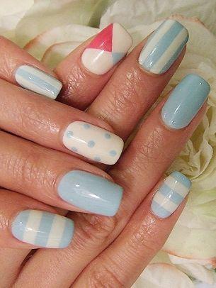brilliant nail art ideas 2012 sport your sizzling manicure like a real trailblazer choose - Nail Design Ideas 2012