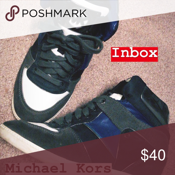 82eca4a0e652d Michael Kors Wedge Sneakers Lighly used  looks New - Size 7  Michael Kors  Sneakers with wedge. Michael Kors Shoes Sneakers