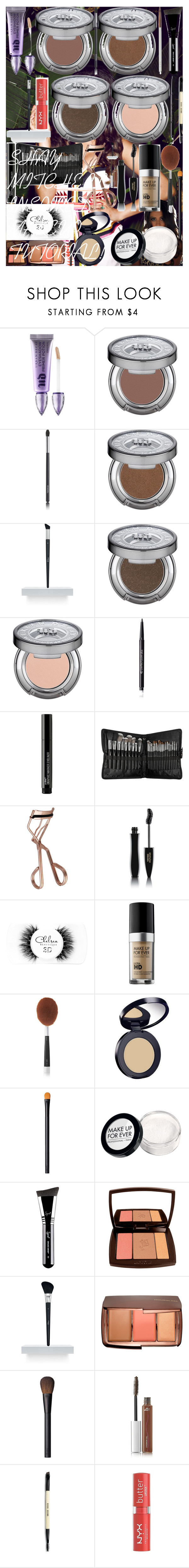 """""""SHAY MITCHELL INSPIRED MAKEUP TUTORIAL!"""" by oroartye-1 on Polyvore featuring beauty, Urban Decay, Chanel, Christian Dior, Wet n Wild, Sephora Collection, Tweezerman, Lancôme, Chelsea Beautique and MAKE UP FOR EVER"""