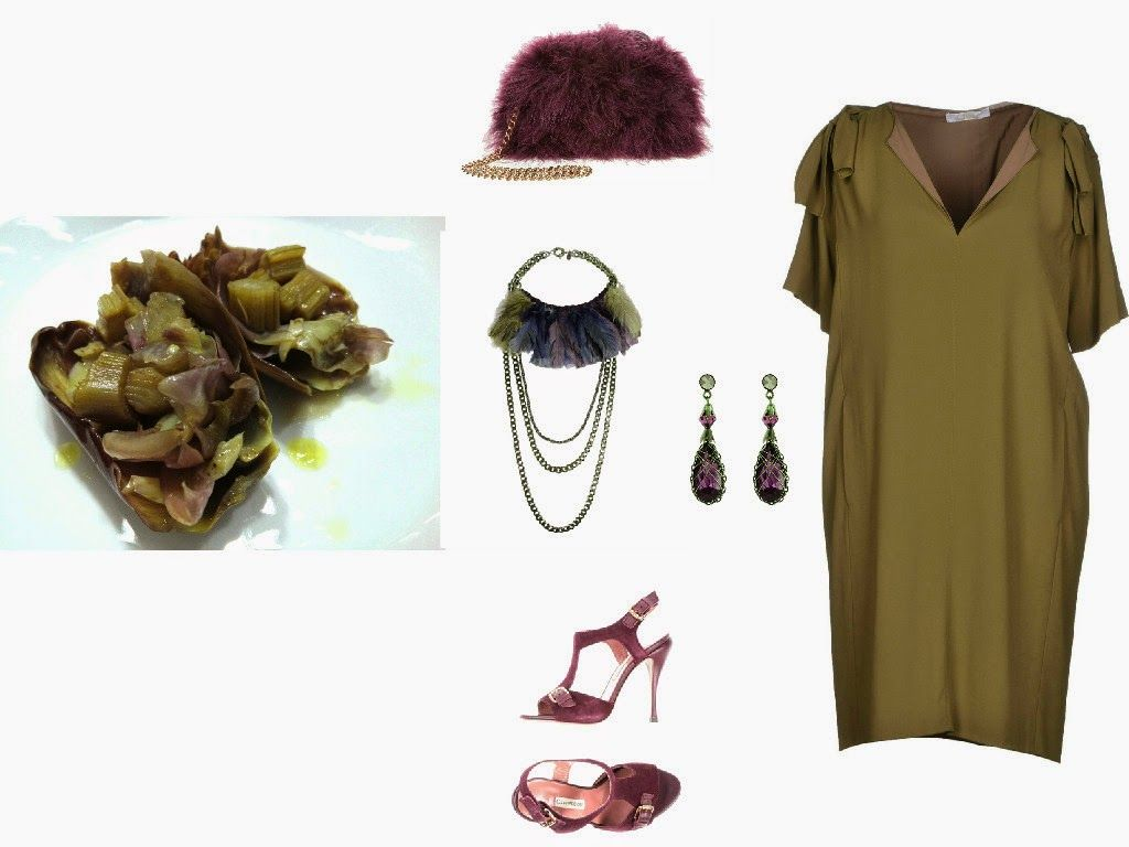 Italian Food and Style: Olive green and amaranth per l'estate!