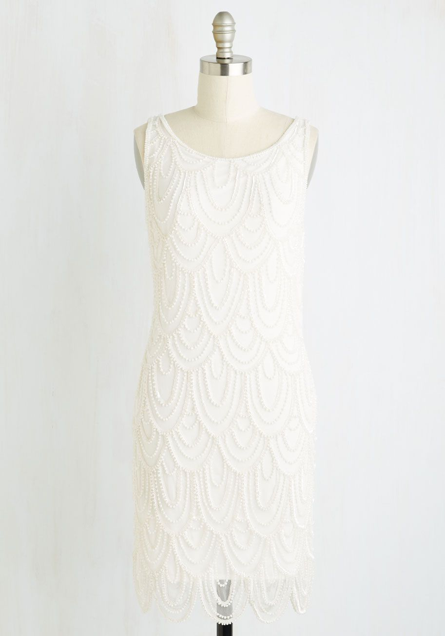 Roaring Reception Dress In White The Celebration Officially Starts When You Make Your Entrance This Shift