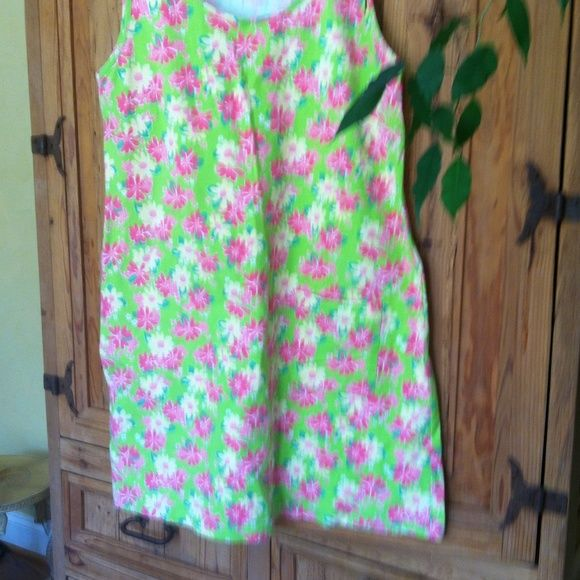Lily Pulitzer dress Lily Pulitzer dress , perfect condition, will fit S , M, or L Lilly Pulitzer Dresses