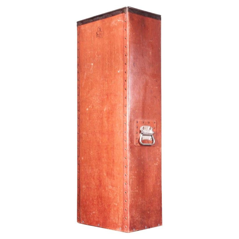 1930s Original Suroy Very Tall Industrial Storage Box, with Grab Handles #frenchindustrial