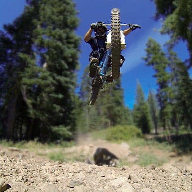 Awesome Shot Downhill Bike Downhill Mountain Biking Mtb Bike