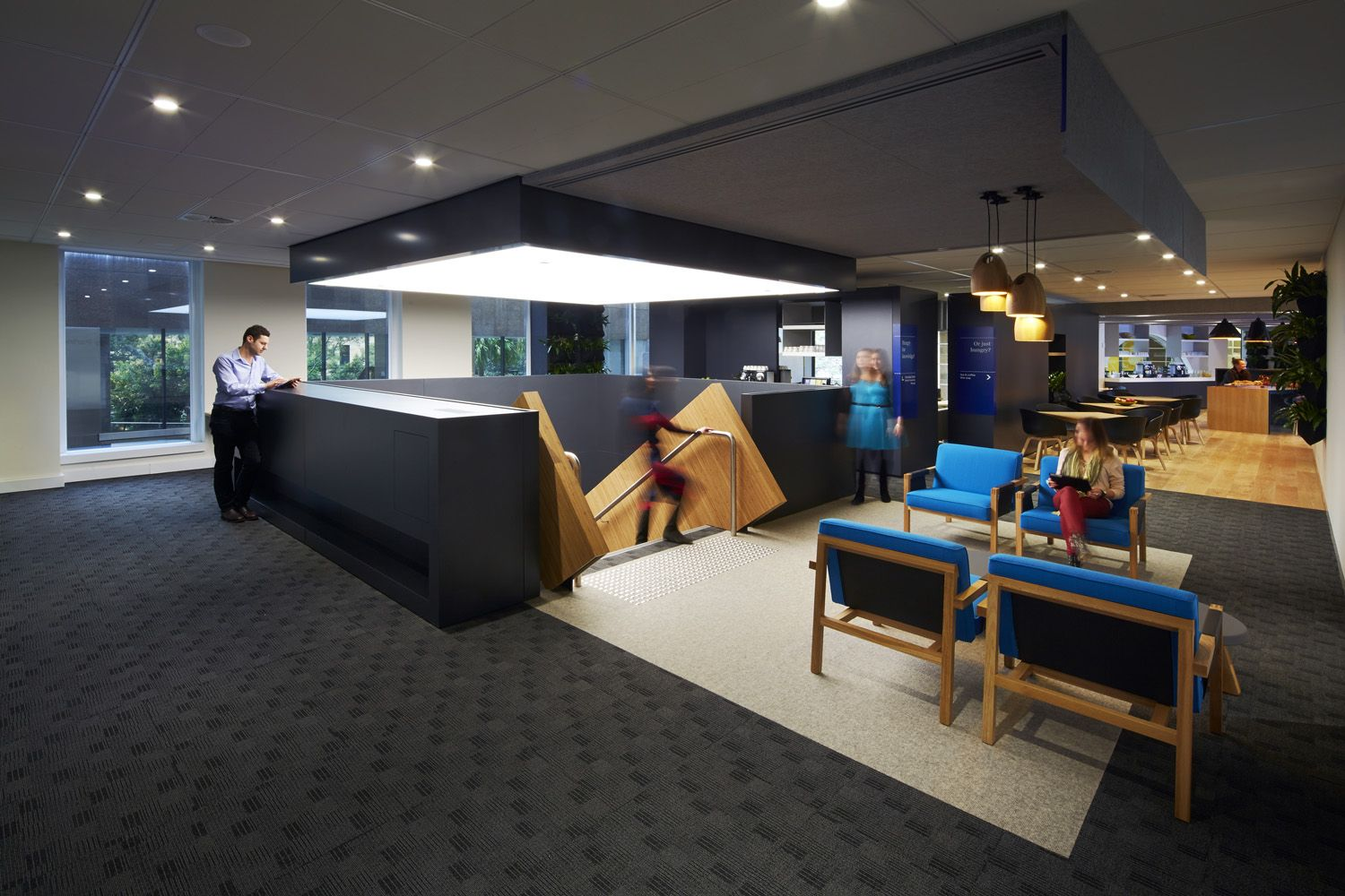 Australian Institute of Management by futurespace Photographed by Tyrone  Branigan  Office Interior DesignOffice ...