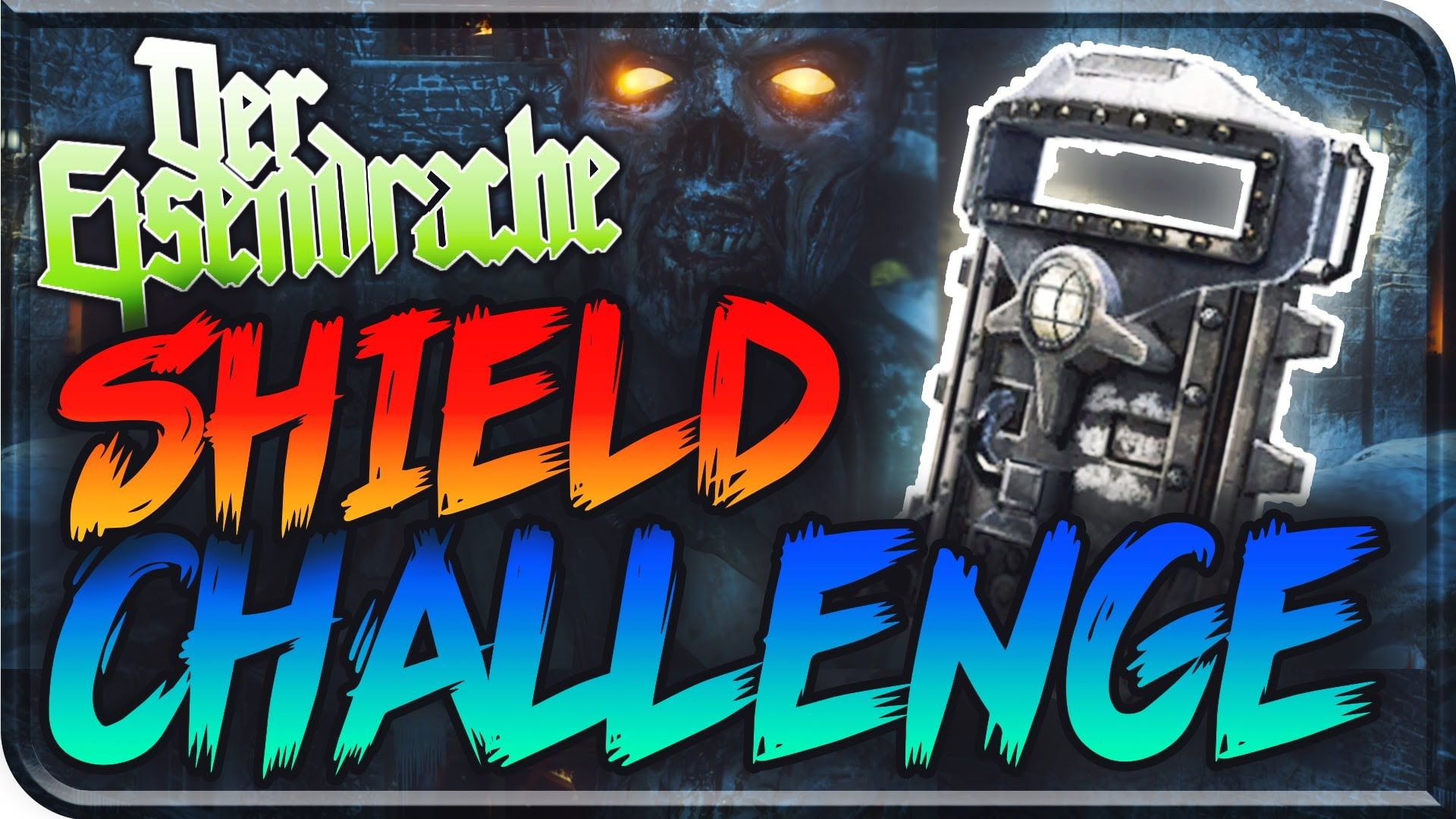 Der Eisendrache Shield Only Challenge Black Ops 3 Zombies Bo3