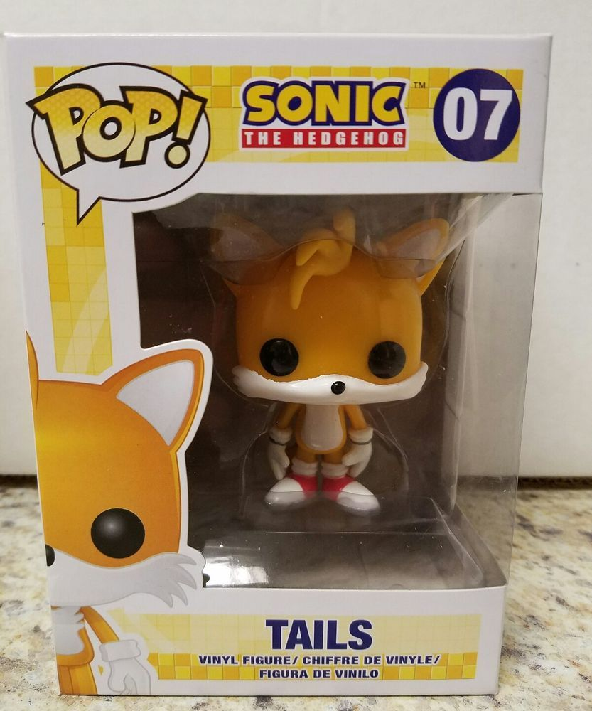 Funko Pop Tails 07 Sonic The Hedgehog Retired Rare Vaulted Great Box Funko Funko Pop Sonic