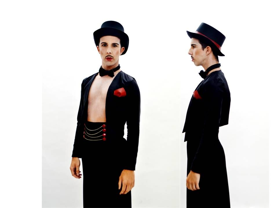 Obra Cabaret Stilyng: Juliana Sordono, Master LCI Barcelona Photography: Cathe Fontalvo