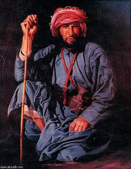 هشام بنجابي السعوديه Oriental Art Arabian Art Portrait