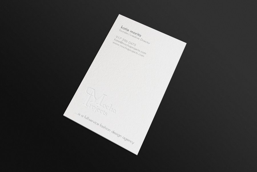 freelance Create a chic business card for one of the Fashion ...