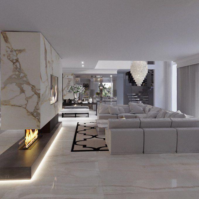 Industrial Interiordesign Bathroom: # Interiordesign #interior #design #modern #glamour #luxury