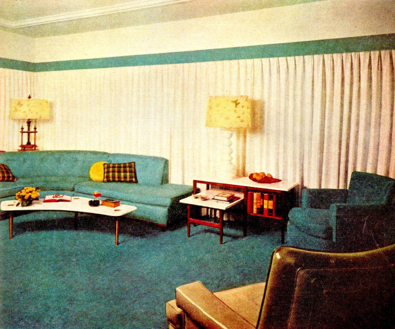 MCM living room   Mid century modern living room design ...