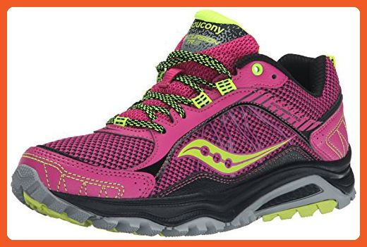 b773affd3e Saucony Women's Grid Excursion TR9 Trail Running Shoe, Pink/Grey ...