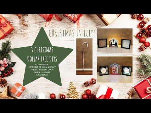 Love The Candy Cane Craft 3 Christmas Dollar Tree Diys