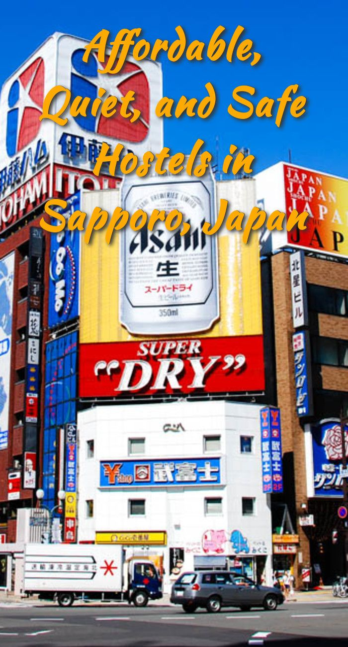 Affordable Quiet And Safe Hostels In Sapporo Japan