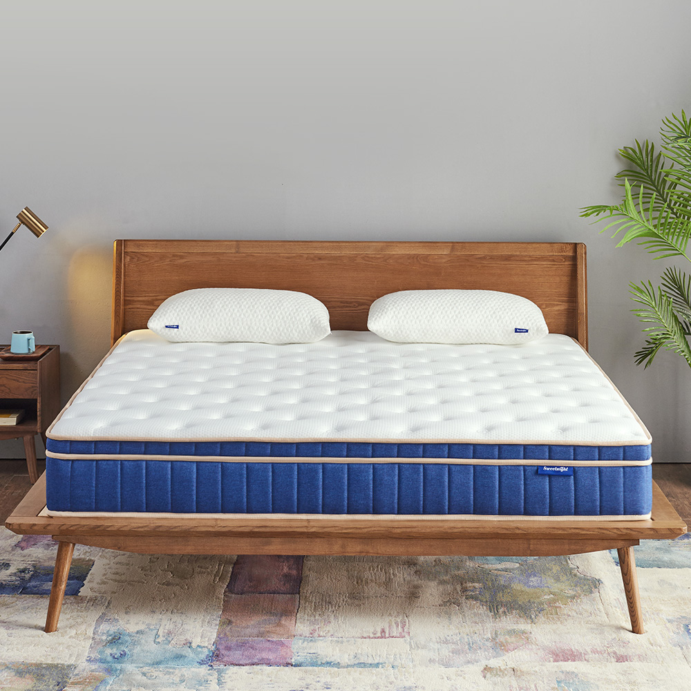 Sweetnight spring mattress provides you with a comfortable