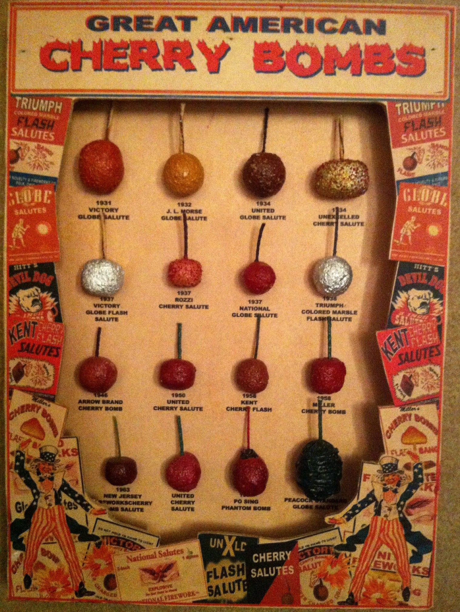 Great American Cherry Bombs  | Vintage 4th of July Fireworks