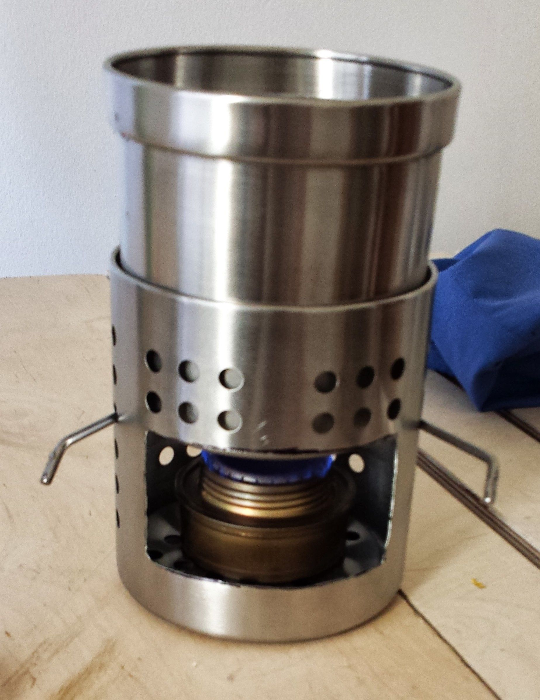 IKEA wood burner/alcohol stove   Camping/Related   Pinterest ...