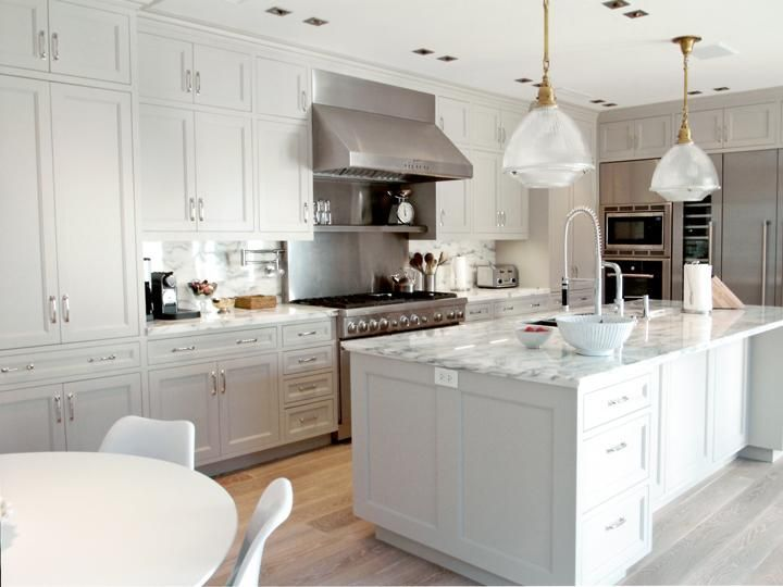 Thermador Kitchen Gallery, White And Stainless