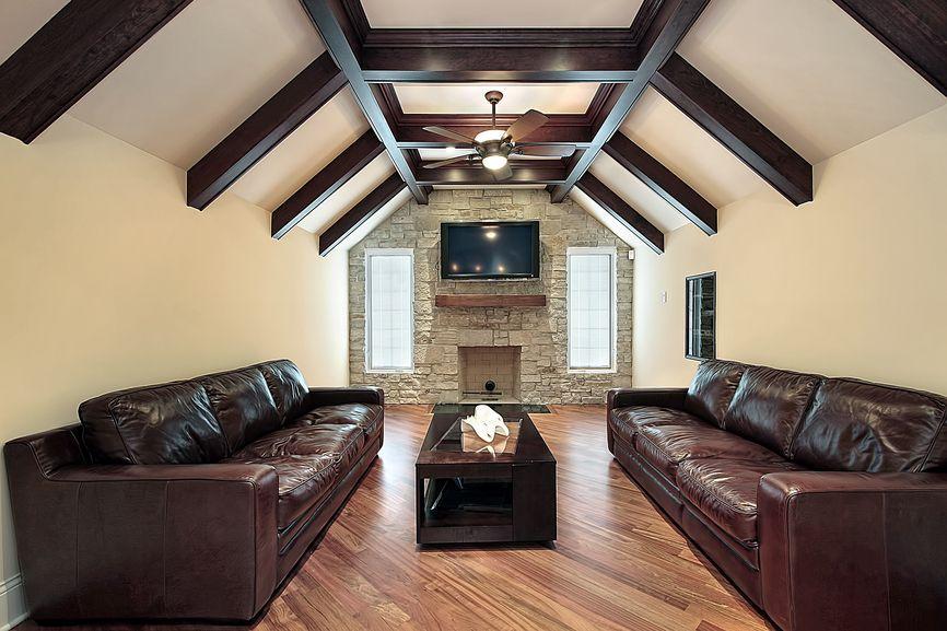 201 family room design ideas for 2017 beams brick
