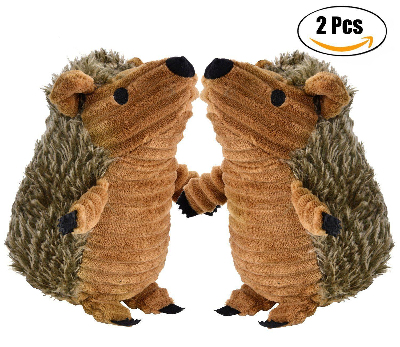 Hedgehog Dog Toys Legendog Pet Squeaky Toys Stuffed Plush