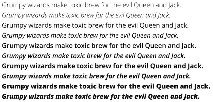 10 Best Sans Serif Web Fonts From Google Fonts Library Google Fonts Web Font Typography Fonts